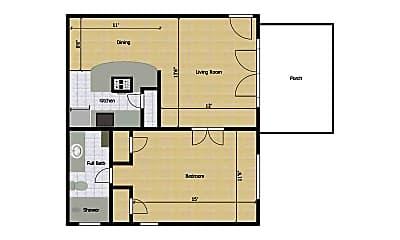 Building, 5002 Junius St, 2