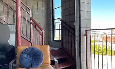 Patio / Deck, 360 W Broadway, 1