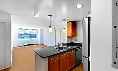 Kitchen, 229 Chrystie Street, Unit 713, 2
