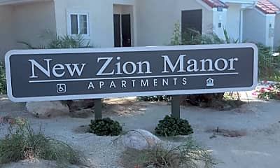 New Zion Manor apartments, 1