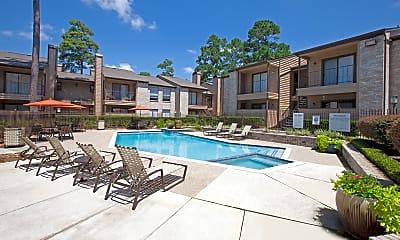 Pool, Cypresswood Court, 1