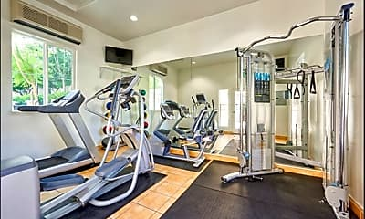 Fitness Weight Room, Tustin Cottages, 2