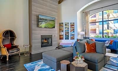 Living Room, Mandarina Luxury Apartment Homes, 1