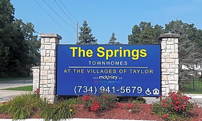 The Springs Townhomes           At The Village of Taylor, 1