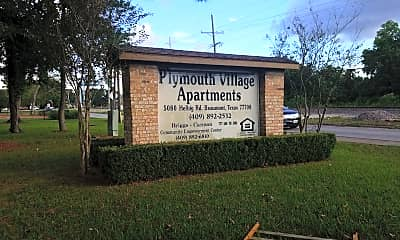 Plymouth Village Apartments, 1