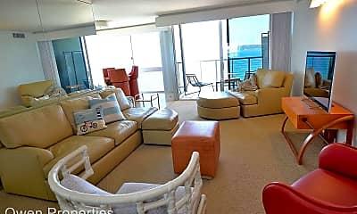 Living Room, 1720 Avenida del Mundo Unit 1604, 1
