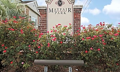 Community Signage, Mayfair Park, 1