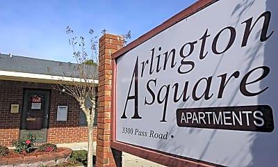 Community Signage, Arlington Square Apartments, 1