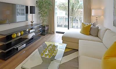 Living Room, The Mark At Cityscape, 1
