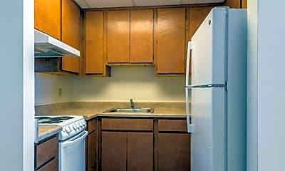 Kitchen, Jefferson Davis Apartments, 1