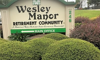 Wesley Manor Retirement Community, 1