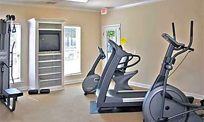 Fitness Weight Room, The Enclave, 1