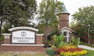 Community Signage, Sterling Pelham Apartments, 0