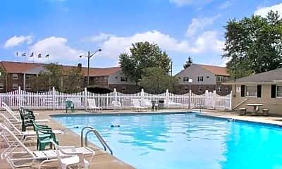 Pool, Magnolia Pointe Apartments, 2