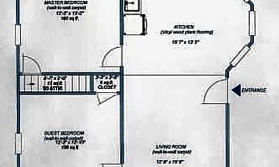 Bedroom, 4303 Glenmore Ave, 2