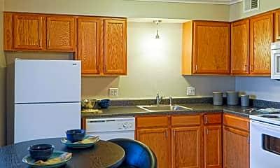 Kitchen, Copper Ridge Apartments, 0