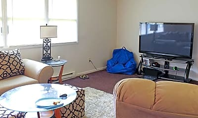 Living Room, Park Place Apartments, 1