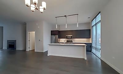 Living Room, 1000 S Clark St TH02, 1