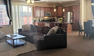 Living Room, 4828 High Pass Dr., 1