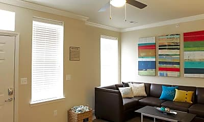 Living Room, The Townhomes At Newtown Crossing, 1