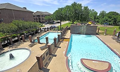Pool, Carrollton Park of North Dallas, 0