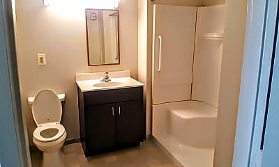 Bathroom, Howard Plaza Towers East Student/ Intern Summer Housing, 2