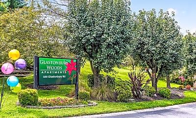 Community Signage, Glastonbury Woods, 2