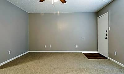 Living Room, Willows Apartments, 1