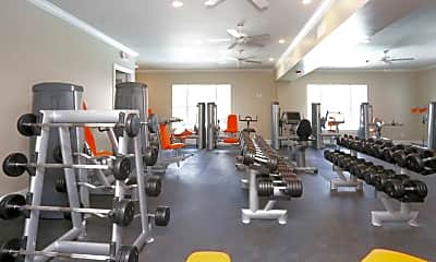Fitness Weight Room, Fountaine Bleau Maumelle, 2