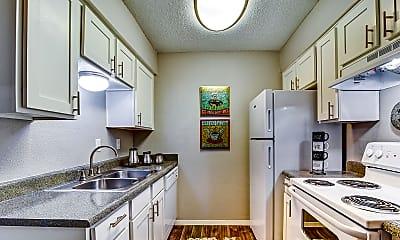 Kitchen, Alpine Creek Apartments, 1