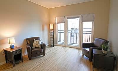 Living Room, 100 West Main Senior Housing 55+, 1