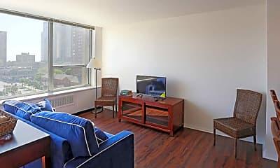 Living Room, Juneau Village Towers, 1