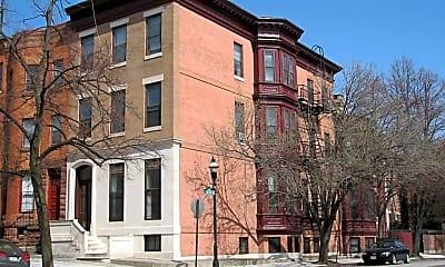 Building, 1701 Bolton St, 1