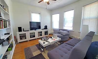 Living Room, 22 Belmont St, 1