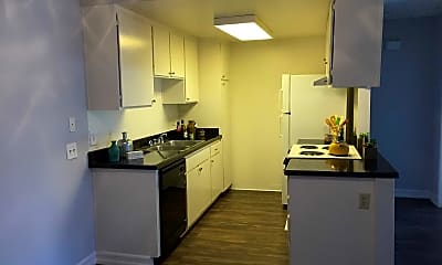 Kitchen, Beach Colony Apartments, 1