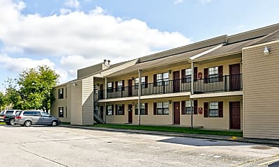 Building, Foxfire Apartments, 0