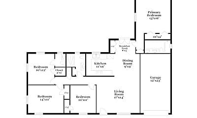 Building, 1504 Elsie St, 1