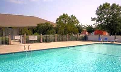Pool, Mark VI Apartments, 1