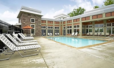 Pool, One One Six Apartments, 2