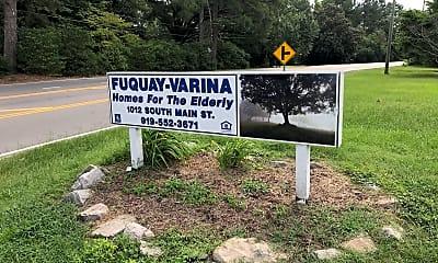 Fuquay-Varina Homes for the Elderly, 1