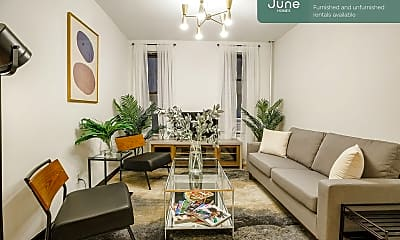 Living Room, 615 W 136th St, 0