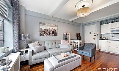 Living Room, 25 Tudor City Pl 1205, 1