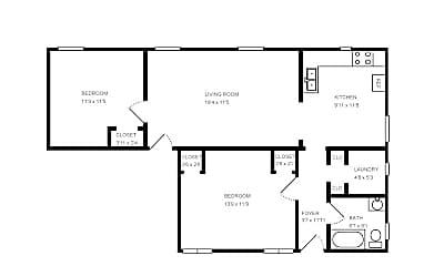 Bedroom, 409 W Bancroft St, 2