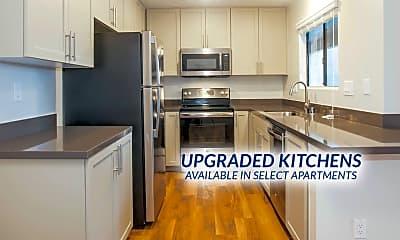 Kitchen, Island Club Apartments, 1