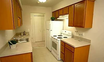 Kitchen, Bedford Square Apartments, 1