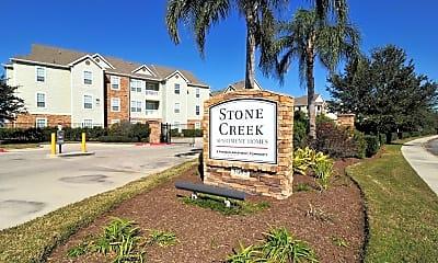 Community Signage, Stone Creek Apartments, 2