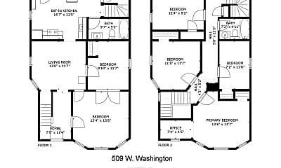 Building, 509 W Washington Ave, 1