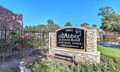 Community Signage, Abbey at Jones Road, 2