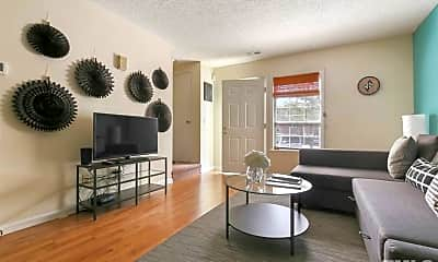 Living Room, 125 Chaucer Ct, 0