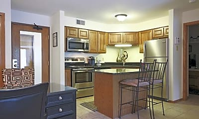 Kitchen, Sauk Creek Apartments, 1